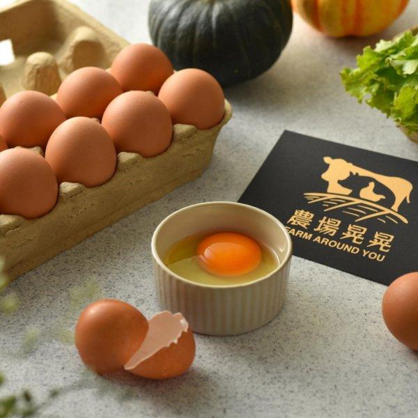 農場晃晃 - 亞麻籽土雞蛋